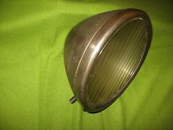 1929 Ford Model A Twolite Headlamp Original 29 Headlight With Fluted Lens
