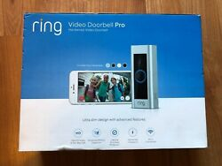 Ring Video Doorbell Pro Wifi 1080p Hd Motion Detection 2-way Audio