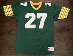 Vintage 27 Terrell Buckley Green Bay Packers Nfl Football Jersey Mens Size 48