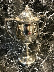 Solid Silver Trophy By Walker And Hall 1917-18