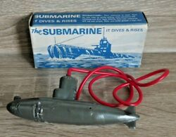 Vintage Tresco The Submarine 1950's Diving Toy Rare Boxed Early 1st Issue  K428