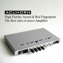 Acuhorn Rate Audiophile Stereo Amplifier Award The Best Ever High Performance