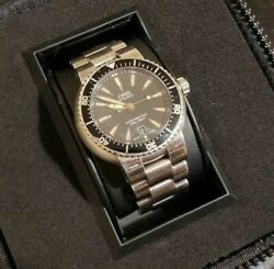 Oris Aqua Date Diver Automatic 300m Mens Box And Paper 7533p Great Condition Watch