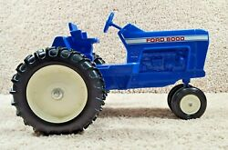 Rare Scale Models 116 Scale Diecast Ford 8000 Farm Toy Tractor Made In Usa