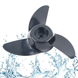 Three-blade Propeller For Electric/ Trolling Motors Marine Boat Parts Kit+wrench