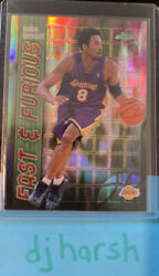 2001-02 Topps Chrome Kobe Bryant Refractor Fast And Furious Ff06 🔥🔥🔥
