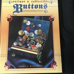 Vintage Button Book By Debra Wisniewski Antique And Collectible Buttons