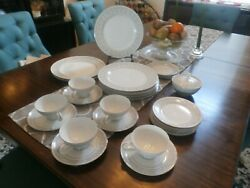 Imperial China Designed By W Dalton Whitney Japan 5671 Including 8 Dinner Plate