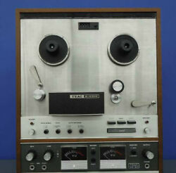 Teac Open Reel Deck A-6010 Ac100v Working Properly 2542