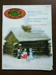 Antique Bottle And Glass Collector Magazine December 2004 Vol. 21 No. 8
