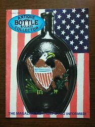 Antique Bottle And Glass Collector Magazine October 2001 Vol. 18 No. 6