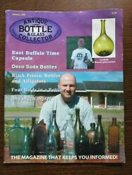 Antique Bottle And Glass Collector Magazine January 2005 Vol. 21 No. 9