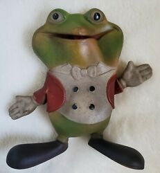 Vintage 1948 Rempel Froggy The Gremlin 5 Squeaker Rubber Toy J. Ed Mcconnell