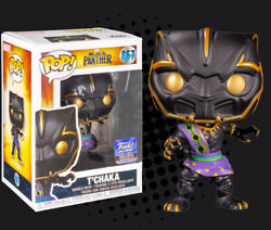Funko Pop Marvel Black Panther - Tand039chaka 867 - Funko Hq Exclusive 💥in Hand💥