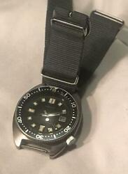 Seiko Vintage Date 2nd Diver Used Automatic Mens Watch Authentic Working