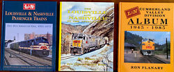 Louisville And Nahville Railroad Books - Lot Of 3