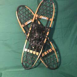 Vintage Snocraft Snow Shoes From Norway, Maine Usa Size 10x36