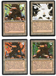 ►magic-style◄ Mtg - 4x Mishra's Factory All 4 Seasons - Antiquities - See Scans