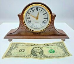 Vintage Music Box Plays As Time Goes By Shape Of A Clock Hands Move To Music