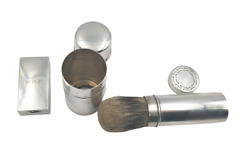 And Co. Sterling Silver Late 19th Century 3-piece Traveling Grooming Set