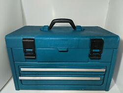Makita Vintage Hard Plastic Toolbox Power Tool Box Carry Case Box Only