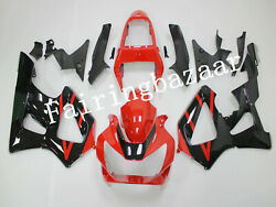Fit For 2000 2001 Cbr929rr Red Black Abs Injection Drilled Bodywork Fairing Kit