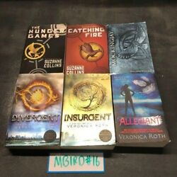 Hunger Games Divergent Book Mix Lot Of 6 Suzanne Collins Veronica Roth Paperback