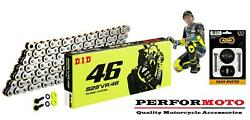 Did Vr46 Special Edition Chain To Fit Honda Cbf600 / Abs / Faired 4-7 04-07
