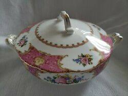 Royal Albert Lady Carlyle, Vegetable Tureen, Consume With Lid, New, Rare