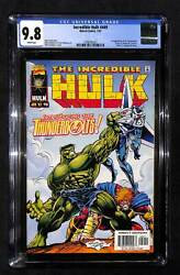 Incredible Hulk 449 Cgc 9.8 1st Appearance Of The Thunderbolts