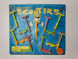 Vintage Mini Scooters Old Gumball Vending Machine Display Card 40