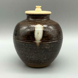 Tea Caddy Ceremony Chaire Pottery Japanese Traditional Crafts With Wooden Box