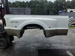Chika Ford F350 Truck Bed Box Long Super Duty White 61721 Dually