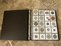100+ Vintage Us And Foreign Coins And Tokens Book
