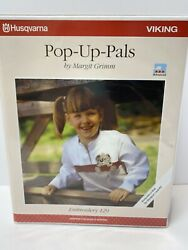 Pop-up Pals Embroidery Designs Disk 129 For Husqvarna Viking Designer 1 And Pc