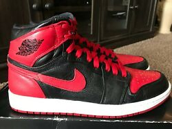 2011 Vnds Nike Air Jordan 1 Retro High Banned Size 11 100 Authentic
