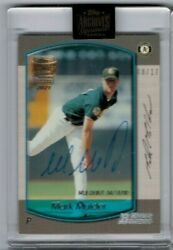 2021 Topps Archives Signatures Series Retired Player Mark Mulder And039ed 08/17
