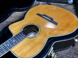 Takamine Elegat Acoustic Guitar Solid Spruce Top Mahogany Neck Japanese Used