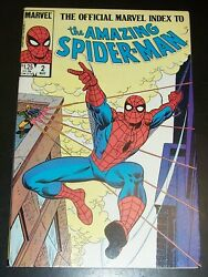 Official Marvel Index 2 Amazing Spiderman 30-58 1965-1968, Bagandb, Combined Shpg