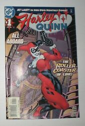 Harley Quinn Comic Pub 2000 1 The Roller Coaster Of Love - Local Pickup Only