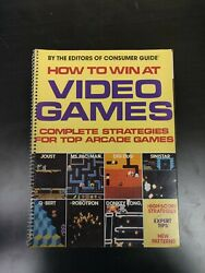 1983 How To Win At Video Games Complete Strategies For Arcade Games Qbert Joust