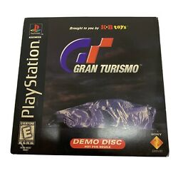 Sony Playstation 1 Gran Turismo Kb Toys Demo Disc Not For Resale