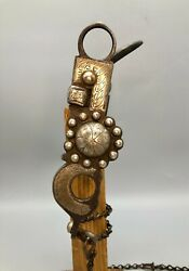 A Great Old California Spade Bit Attributed To Hernandez