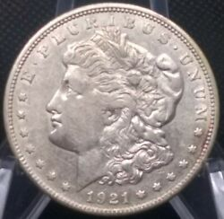 Only Denver Mint Morgan Silver Dollar Nice 1921-d 100 Year Anniversary Coin