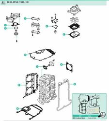 Gasket Set For 40 Hp 50 Hp 4 Stroke Johnson Evinrude Outboard Df40 Df50 And03999-and03906