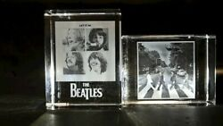 The Beatles Collectible Laser Etched Paperweights
