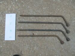 40and039s 50and039s 60and039s Ford Jack / Lug Wrench Qty 1 Torino Galaxie Fairlane F100 4