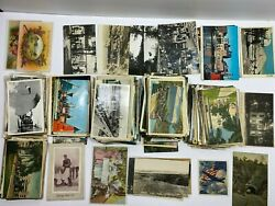 Vintage Postcards From 1911 - 80s Many Real Picture Post Cards 351 Cards Lot