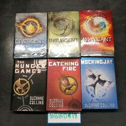 Hunger Games Divergent Book Mix Lot Of 6 Veronica Roth Suzanne Collins Hardcover