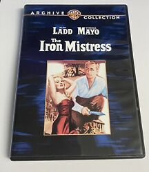The Iron Mistress Dvd 2009 Warner Archive Collection Alan Ladd Virginia Mayo